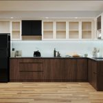 Nội thất gỗ công nghiệp cho phòng bếp đẹp
